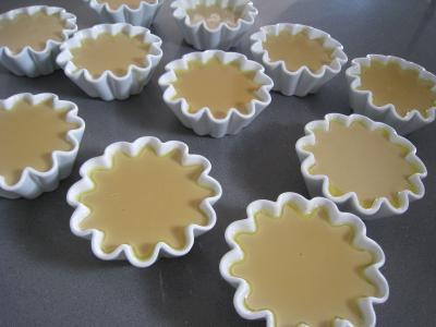 Panna cotta vanille et sauce caramel à l'orange - 4.4