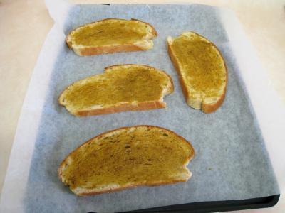 Croûtes à la mozzarella et aux oignons - 3.2
