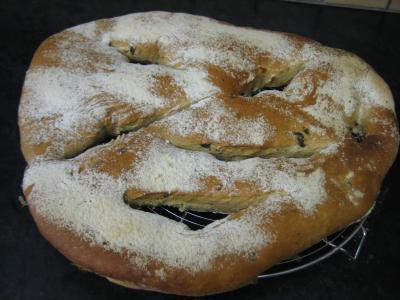 Fougasse aux olives - 10.3