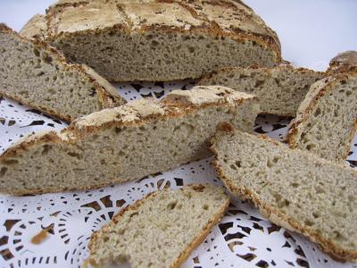 Image : Pain à la farine de châtaignes
