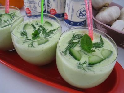 Tzatziki ou Concombre au yaourt à la grecque (Tzaziki) - 7.1