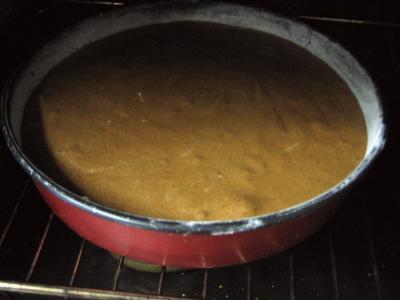 Gâteau au chocolat et son coulis de melon et pêches - 8.4