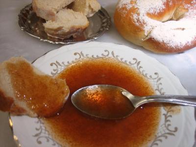 Image : Coupelle de gelée de prunes au gingembre