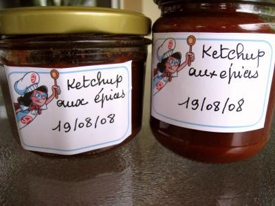 Ketchup aux épices - 11.2