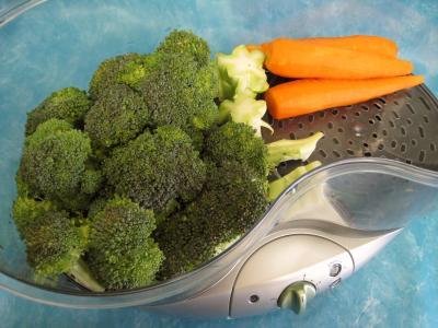 Légumes vapeur (artichauts, brocolis, carottes, fenouil) - 8.2