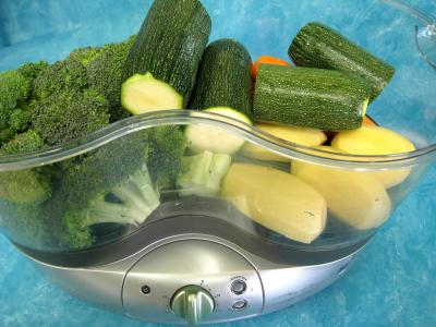 Légumes vapeur (artichauts, brocolis, carottes, fenouil) - 8.4