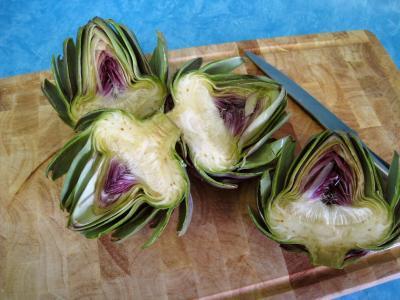 Légumes vapeur (artichauts, brocolis, carottes, fenouil) - 5.1
