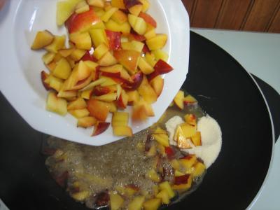 Marmelade de nectarines et bananes - 2.3
