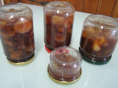 Marmelade de nectarines et bananes - 5.2