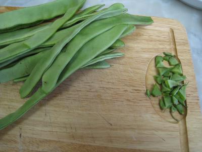 Moules crèmées aux haricots plats - 1.1