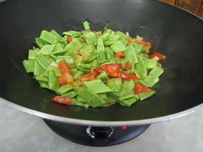 Moules crèmées aux haricots plats - 7.2