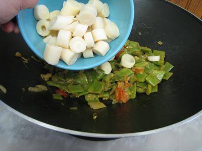 Moules crèmées aux haricots plats - 9.1