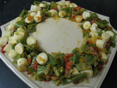Moules crèmées aux haricots plats - 10.1