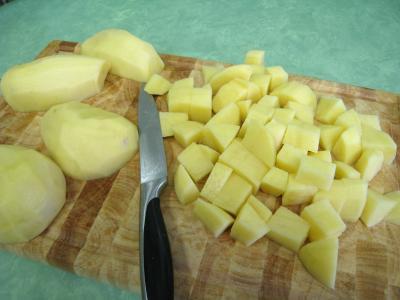 Pommes de terre et saumon en salade - 1.3