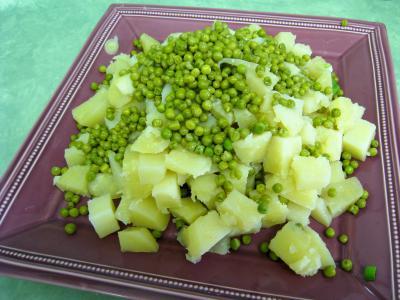 Pommes de terre et saumon en salade - 9.3