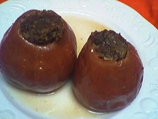 Recette Pommes farcies