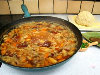 Potage chou chinois et sa boulette de porc - 11.2