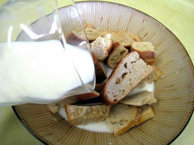 Pouding à la mozzarella et sa sauce aux champignons - 3.3