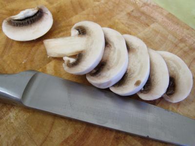 Pouding à la mozzarella et sa sauce aux champignons - 1.3
