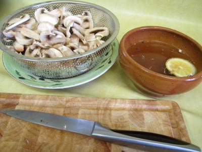Pouding à la mozzarella et sa sauce aux champignons - 2.1