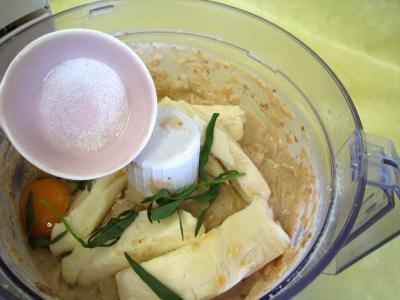 Pouding à la mozzarella et sa sauce aux champignons - 5.1