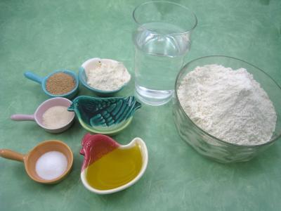 Ingrédients pour la recette : Poule de Pâques et ses oeufs