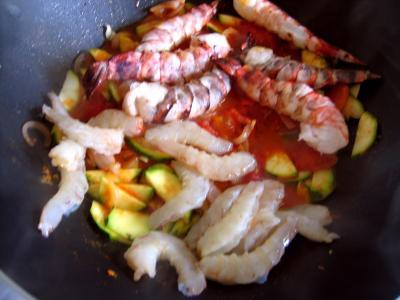 Cari de crevettes et courgette façon réunionnaise - 7.2