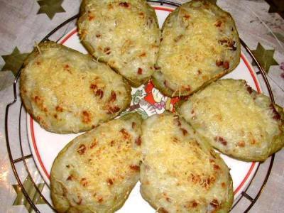 Image : Assiette de chayottes gratinées à la réunionnaise