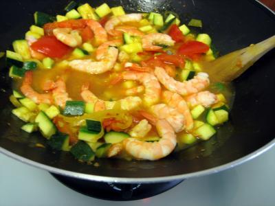 Crevettes à la Réunionnaise - 8.1