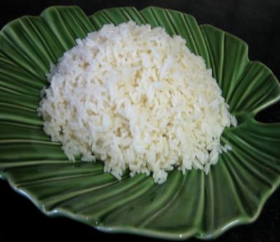 Cuisine mauricienne : Assiette de riz à la créole