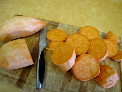 Purée de patates douces - 2.2
