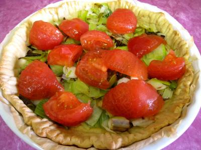 Quiche aux tomates et au gorgonzola façon italienne - 11.1