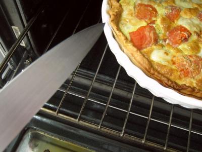 Quiche aux tomates et au gorgonzola façon italienne - 12.3