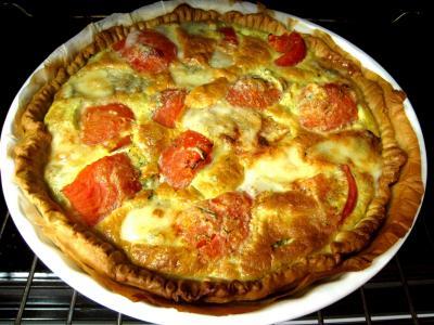 Quiche aux tomates et au gorgonzola façon italienne - 12.1
