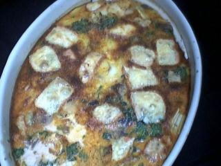Image : Plat de pommes de terre au Maroilles