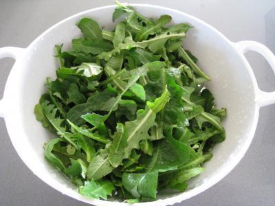 Salade de pissenlits au lard à l'ardennaise - 2.4