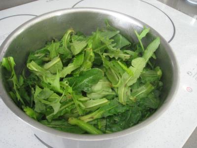 Salade de pissenlits au lard à l'ardennaise - 5.2