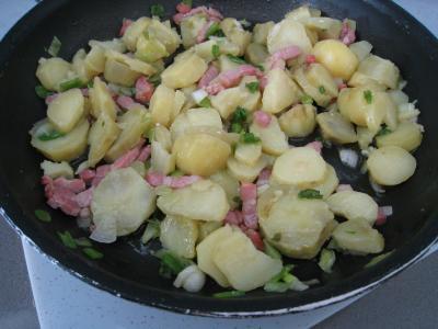Salade de pissenlits au lard à l'ardennaise - 7.3