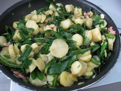 Salade de pissenlits au lard à l'ardennaise - 8.1