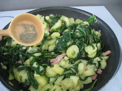 Salade de pissenlits au lard à l'ardennaise - 8.3