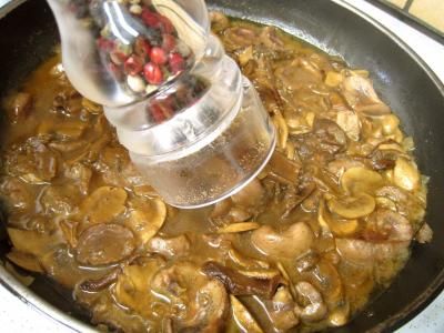 Rognons de veau sautés aux cèpes et ses fonds d'artichauts - 15.1