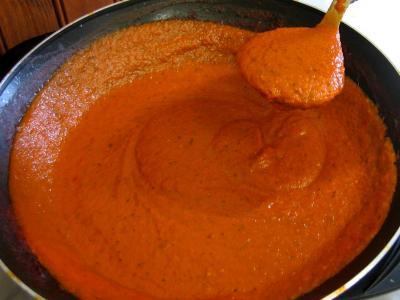 Recette Sauce tomates pour pizza