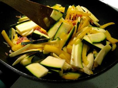 Sauté de légumes et ses oeufs au bain-marie - 6.4