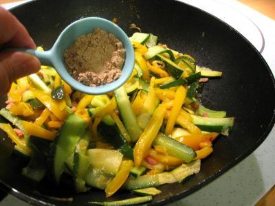 Sauté de légumes et ses oeufs au bain-marie - 7.4
