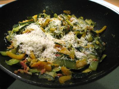 Sauté de légumes et ses oeufs au bain-marie - 8.2