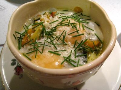 Sauté de légumes et ses oeufs au bain-marie - 12.2