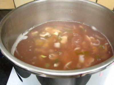 Soupe de morue aux champignons - 11.3
