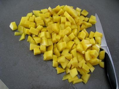 Mascarpone à la noix de coco et mangue - 1.3