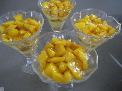 Mascarpone à la noix de coco et mangue - 10.2
