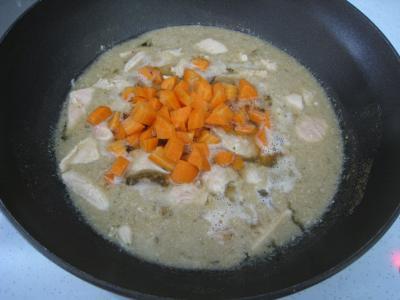 Pâtes complètes aux carottes et légumes pour diabétiques - 8.2
